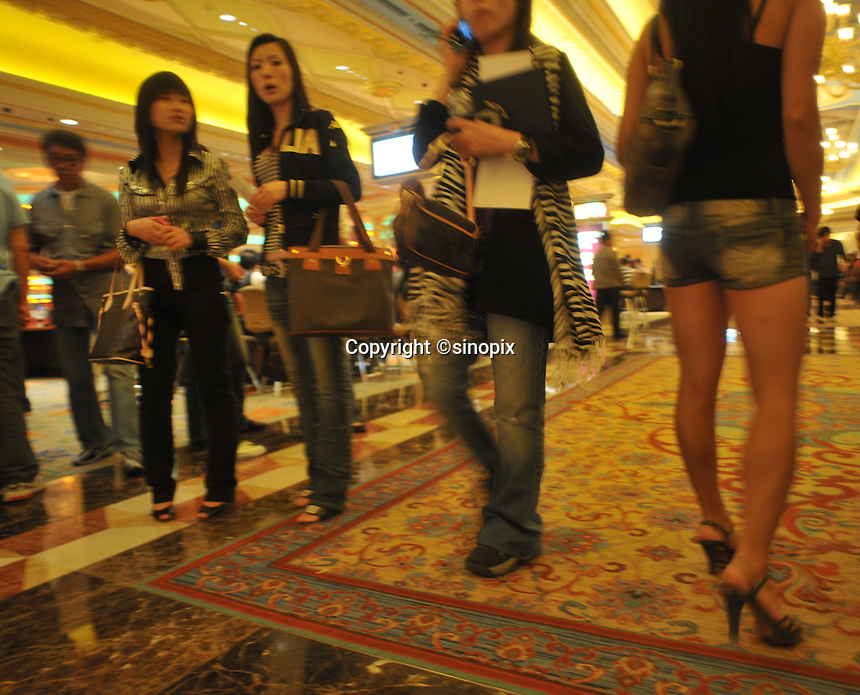 Vegas In China Macau Sinopix Photo Agency