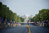 The Champs-Elys&eacute;es before the madness hits<br /> <br /> Final stage 21 - Chantilly &rsaquo; Paris/Champs Elys&eacute;es (113km)<br /> 103rd Tour de France 2016