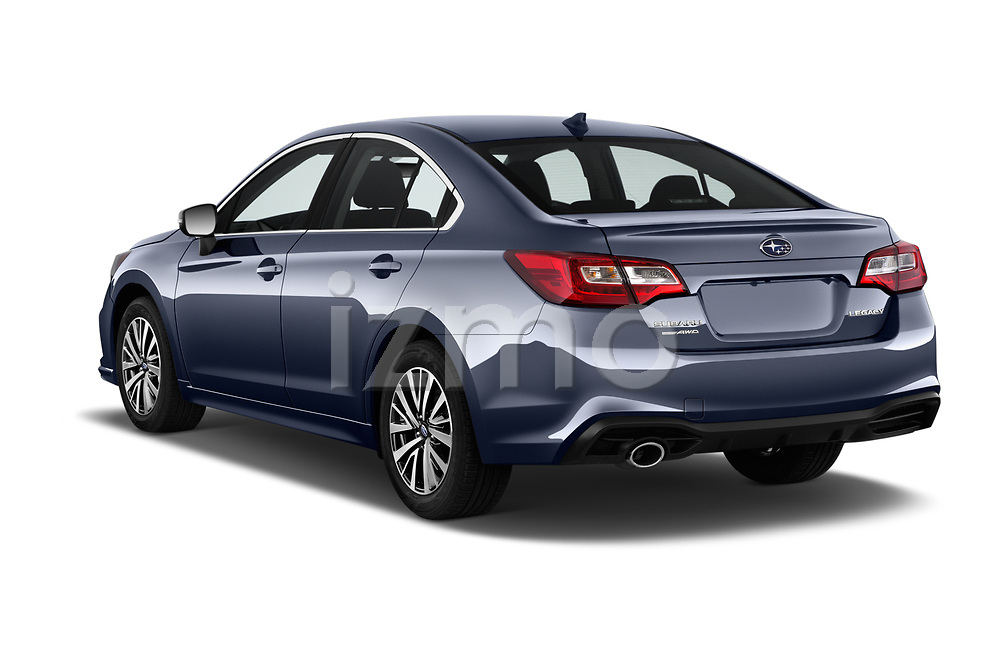 Car pictures of rear three quarter view of a 2018 Subaru Legacy Premium 4 Door Sedan angular rear