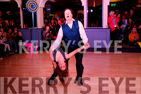 JJ Bonn and Veronica Heaslip at Ballymac Strictly Come Dancing, at Ballygarry House Hotel & Spa, Tralee, on Saturday night
