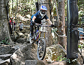 7th September 2017, Smithfield Forest, Cairns, Australia; UCI Mountain Bike World Championships; Laurie Greenland (GBR) from MS MONDRAKER TEAM during downhill practice