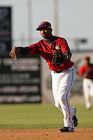May 2, 2010: Albert Cartwright of the Lancaster JetHawks during game against the Lake Elsinore Storm at Clear Channel Stadium in Lancaster,CA.  Photo by Larry Goren/Four Seam Images