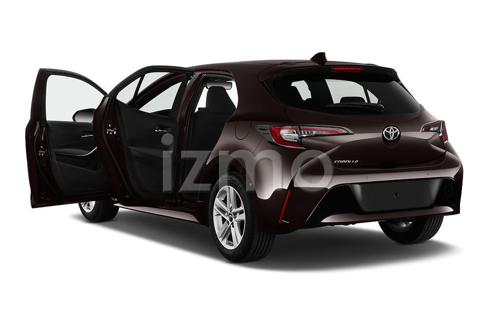 Car images close up view of a 2019 Toyota Corolla Dynamic 5 Door Hatchback doors