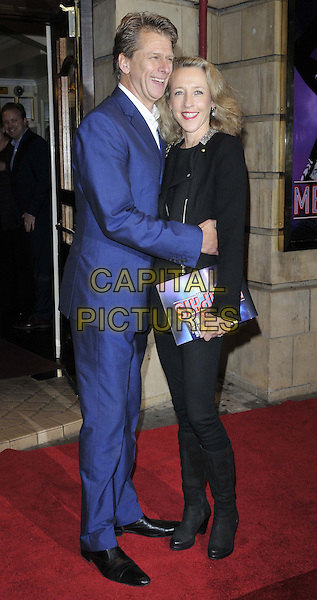 LONDON, ENGLAND - OCTOBER 23: Andrew Castle &amp; Sophia Castle attend the &quot;Memphis&quot; press night performance, Shaftesbury Theatre, Shaftesbury Avenue, on Thursday October 23, 2014 in London, England, UK. <br /> CAP/CAN<br /> &copy;Can Nguyen/Capital Pictures