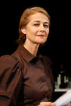 8 Oct 2009 Athens Greece. Actress Charlotte Rampling recite poetry of Constantinos Kavafys and Marguerite Yourcenar in French institute of Greece. Credit Aristidis Vafeiadakis/ZUMA Press.