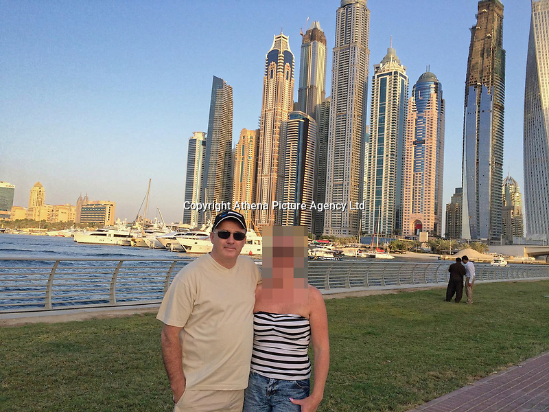Pictured:  Dave Ibbotson (L) with woman believed to be his wife Margret, from Crowle, north Lincolnshire, who was the pilot of the Piper Malibu carrying footballer Emiliano Sala from Nantes to Cardiff.<br /> Re: Premier League footballer Emiliano Sala was on a flight which disappeared between France and Cardiff.<br /> The Argentine striker was one of two people on board the Piper Malibu, which disappeared off Alderney on Monday night.<br /> Cardiff City FC, signed the 28-year-old from French club Nantes.