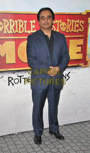 "Sanjeev Bhaskar at the ""Horrible Histories: The Movie - Rotten Romans"" world film premiere, Odeon Luxe Leicester Square, Leicester Square, London, England, UK, on Sunday 07th July 2019.<br /> CAP/CAN<br /> ©CAN/Capital Pictures"