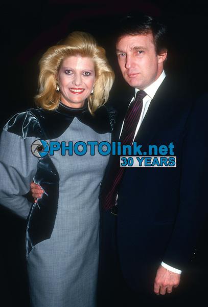 Ivana Trump and Donald Trump 1984<br /> Photo By John Barrett/PHOTOlink