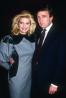 Ivana Trump and Donald Trump 1984<br /> Photo By John Barrett/PHOTOlink