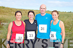 FUN RUN: Brother and sisters Mags Hussey, Josie Daly, David Moore and Nuala Moore from Abbeydorney taking part in the Banna 10km and Fun Run on Sunday.