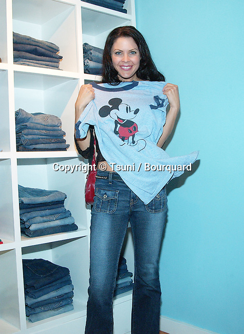 Christa Campbell at the party for the opening of Kelly Cole Lo-Fi, Hip Club Aesthetic for the High-End Vintage Clothes Hollywood store in Los Angeles. September 9, 2002          -            CampbellChrista01B.jpg