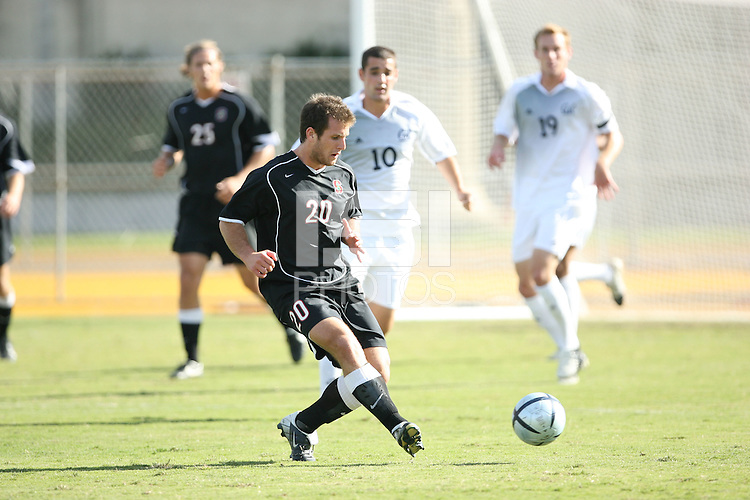 13 November 2005: Cooper McKee during Stanford's 4-1 loss to California at Edwards Stadium in Berkeley, CA.