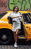 www.acepixs.com<br /> <br /> April 26 2017, New York City<br /> <br /> Model and actress Emily Ratajkowski takes part in a DKNY photo shoot in Soho on April 26 2017 in New York City<br /> <br /> By Line: Philip Vaughan/ACE Pictures<br /> <br /> <br /> ACE Pictures Inc<br /> Tel: 6467670430<br /> Email: info@acepixs.com<br /> www.acepixs.com