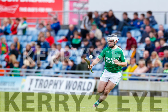 Jack Goulding Ballyduff in action against  Lixnaw in the Senior County Hurling Final in Austin Stack Park on Sunday