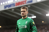 Liverpool's Simon Mignolet<br /> <br /> Photographer Rich Linley/CameraSport<br /> <br /> The Premier League -  Newcastle United v Liverpool - Sunday 1st October 2017 - St James' Park - Newcastle<br /> <br /> World Copyright &copy; 2017 CameraSport. All rights reserved. 43 Linden Ave. Countesthorpe. Leicester. England. LE8 5PG - Tel: +44 (0) 116 277 4147 - admin@camerasport.com - www.camerasport.com