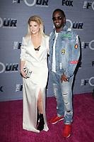 WEST HOLLYWOOD, CA - FEBRUARY 8: Meghan Trainor and Sean Combs at the season finale viewing party for The Four: Battle For Stardom at Delilah in West Hollywood, California on February 8, 2018. <br /> CAP/MPI/FS<br /> &copy;FS/MPI/Capital Pictures