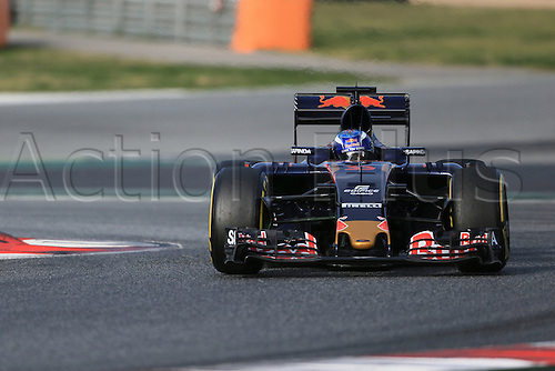 03.03.2016. Barcelona, Spain. Formula 1 Winter Testing at Circuit de Barcelona Catalunya Test 2 Day 3.  Scuderia Toro Rosso STR11 – Max Verstappen