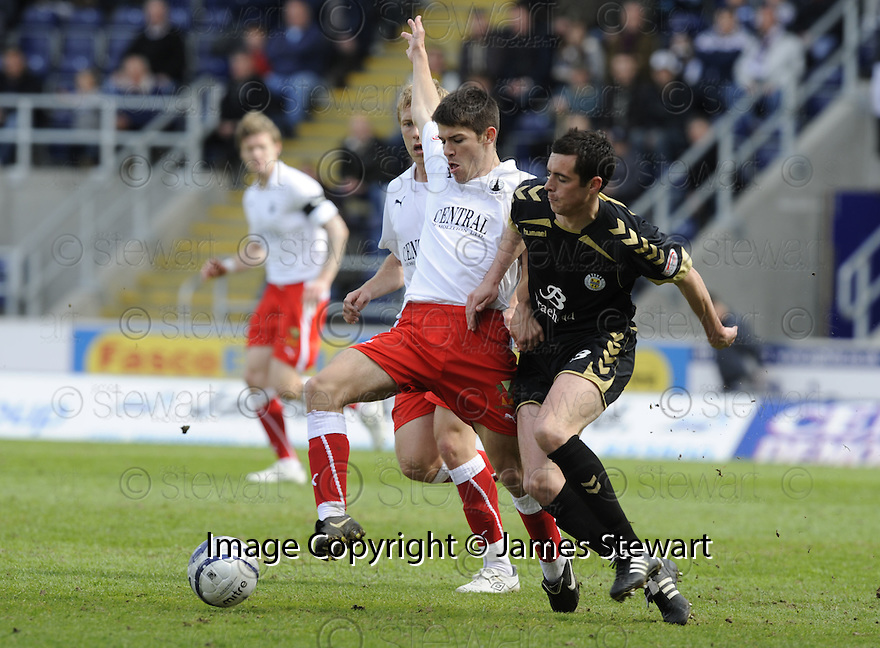 01/05/2010   Copyright  Pic : James Stewart.sct_jsp12_falkirk_v_st-mirren  .::  RYAN FLYN AND DAVID BARRON ::  .James Stewart Photography 19 Carronlea Drive, Falkirk. FK2 8DN      Vat Reg No. 607 6932 25.Telephone      : +44 (0)1324 570291 .Mobile              : +44 (0)7721 416997.E-mail  :  jim@jspa.co.uk.If you require further information then contact Jim Stewart on any of the numbers above.........