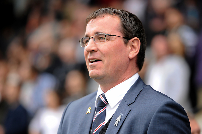Blackburn Rovers manager Gary Bowyer <br /> <br /> Photographer Ashley Western/CameraSport<br /> <br /> Football - The Football League Sky Bet Championship - Fulham v Blackburn Rovers - Sunday 13th September 2015 - Craven Cottage<br /> <br /> &copy; CameraSport - 43 Linden Ave. Countesthorpe. Leicester. England. LE8 5PG - Tel: +44 (0) 116 277 4147 - admin@camerasport.com - www.camerasport.com