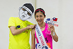 Taiwan Female Champion Yafen Chen and Ducan during the Wings for Life World Run on 08 May, 2016 in Yilan, Taiwan. Photo by Lucas Schifres / Power Sport Images