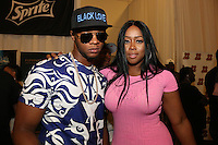 LOS ANGELES, CA - JUNE 26, 2016 Papoose & Remy Ma attends the BET Awards Remote Radio Room at The JW Marriot in Los Angeles, CA. Photo Credit: Walik Goshorn / Media Punch