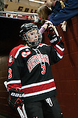 Katie MacSorley (NU - 3) - The Boston College Eagles defeated the Northeastern University Huskies 3-0 on Tuesday, February 11, 2014, to win the 2014 Beanpot championship at Kelley Rink in Conte Forum in Chestnut Hill, Massachusetts.
