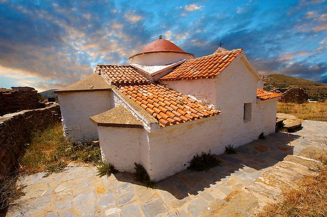 The  17th Century Byzantine Greek Orthodox Monastery of Agia Anna ( St Anne) 17th Century