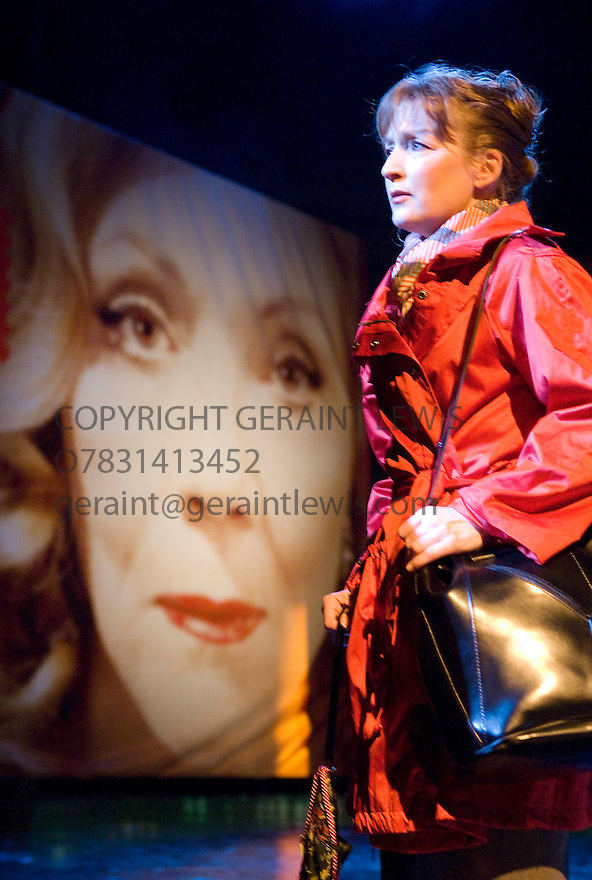 All About My Mother,based on the film by Pedro Almodovar ,a new play by Samuel Adamson. Directed by Tom Cairns.With Lesley Manville as Manuela. Opening at The Old Vic Theatre on 4/9/2007 . CREDIT Geraint Lewis