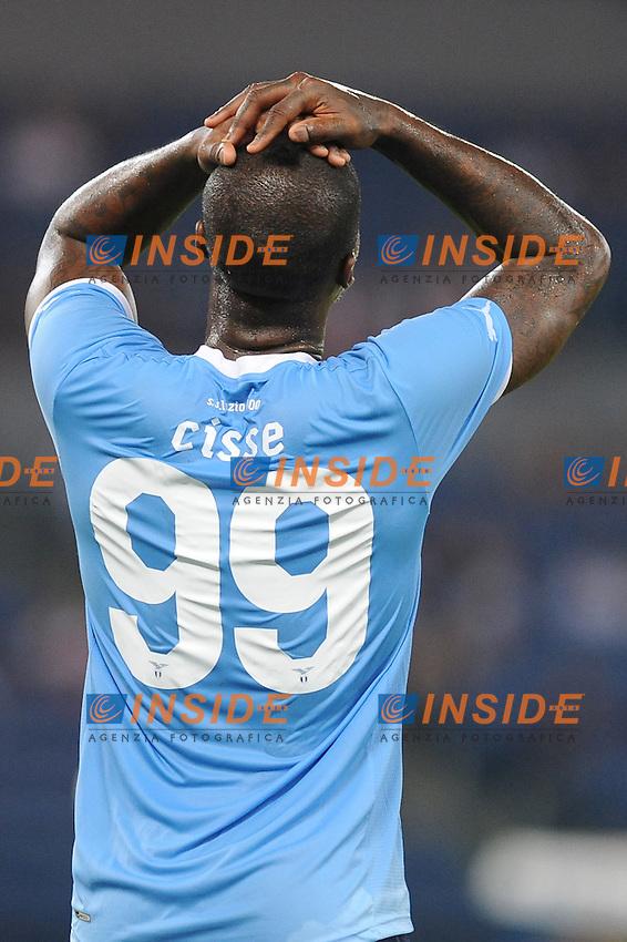 "Djibril cisse'.(lazio).Roma 18/8/2011 Stadio ""Olimpico"".Europa League.Football Calcio Lazio Rabotnicki.Foto Insidefoto Massimo Oliva"