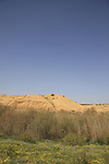 Israel, the northern Negev. Nahal Besor as seen from Besor scenic road