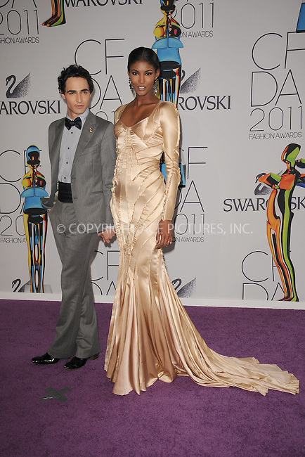 WWW.ACEPIXS.COM . . . . . .June 6, 2011...New York City.....Zac Posen and Sessilee Lopez attends the 2011 CFDA Fashion Awards at Alice Tully Hall, Lincoln Center on June 6, 2011 in New York City......Please byline: KRISTIN CALLAHAN - ACEPIXS.COM.. . . . . . ..Ace Pictures, Inc: ..tel: (212) 243 8787 or (646) 769 0430..e-mail: info@acepixs.com..web: http://www.acepixs.com .