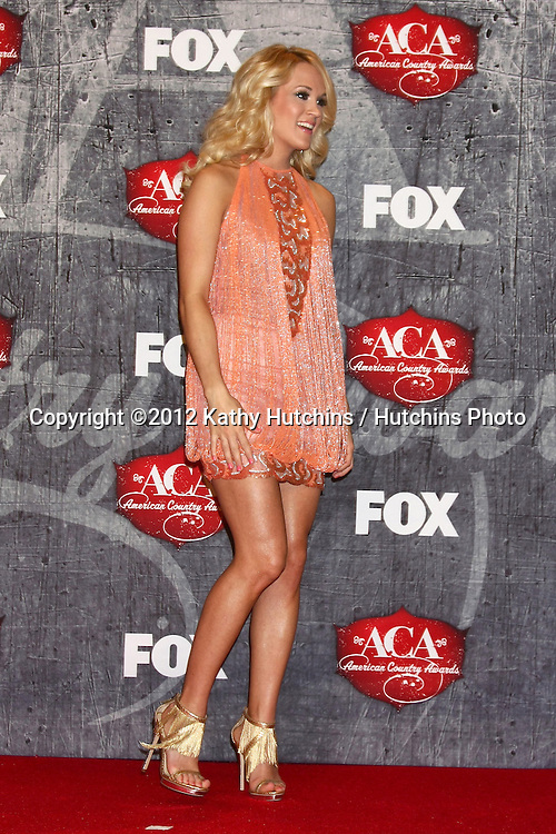 LOS ANGELES - DEC 10:  Carrie Underwood in the press room of the American Country Awards 2012 at Mandalay Bay Resort and Casino on December 10, 2012 in Las Vegas, NV
