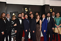 LOS ANGELES - JAN 26:  Wild Up at the 62nd Grammy Awards at the Staples Center on January 26, 2020 in Los Angeles, CA
