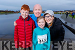 The Shanahan family enjoying the Santa Fun Run on Sunday. <br /> Brian, Caoimhe, Jack and Susan Shanahan from Ballyroe.