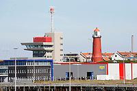 Nederland IJmuiden 2016.  Vuurtoren in IJmuiden.  Foto Berlinda van Dam / Hollandse Hoogte