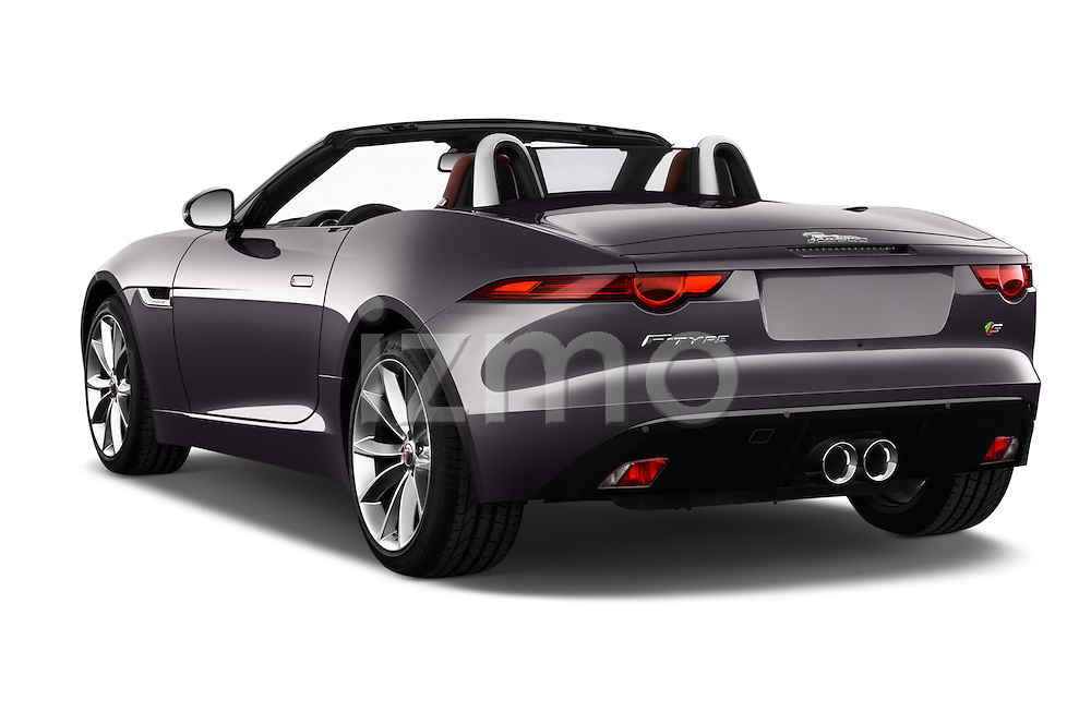 Car pictures of rear three quarter view of 2016 Jaguar F Type S 2 Door Convertible Angular Rear