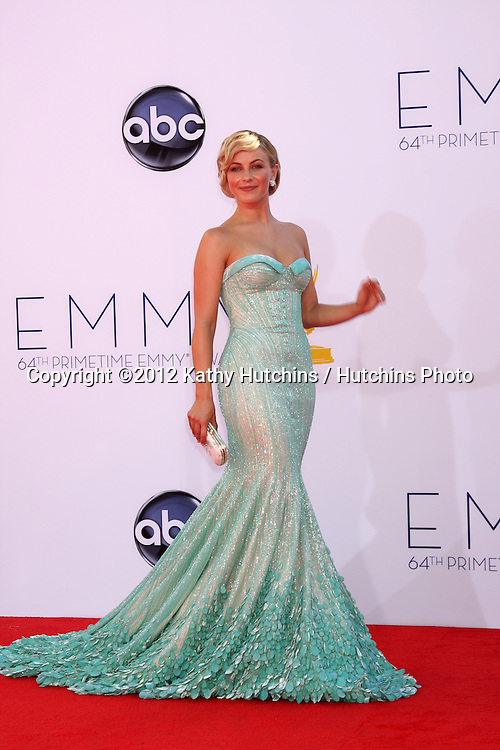 LOS ANGELES - SEP 23:  Julianne Hough arrives at the 2012 Emmy Awards at Nokia Theater on September 23, 2012 in Los Angeles, CA