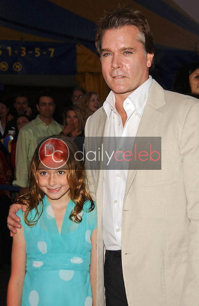 Karsen Liotta and Ray Liotta<br />at the Los Angeles Opening Cirque Du Soleil's &quot;Corteo&quot;. The Forum, Los Angeles, CA. 08-24-07<br />Dave Edwards/DailyCeleb.com 818-249-4998