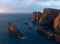 Rugged coast  Ireland North West coast Tory island