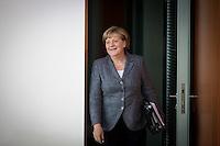 Bundeskanzlerin Angela Merkel (CDU) nimmt am Mittwoch (21.09.16) in Berlin an der Sitzung des Bundeskabinetts teil.<br /> Foto: Axel Schmidt/CommonLens