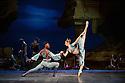 London, UK. 12.01.2016. English National Ballet present Le Corsaire, at the London Coliseum. Picture shows: Brooklyn Mack (Conrad), Laurretta Summerscales (Medora). Photograph © Jane Hobson.