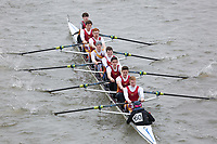 Crew: 160   St Edmund Hall, Oxford      <br /> <br /> Eights Head of the River (HoRR) 2018<br /> <br /> To purchase this photo, or to see pricing information for Prints and Downloads, click the blue 'Add to Cart' button at the top-right of the page.