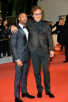 Michael B. Jordan &amp; Michael Shannon at the gala screening for &quot;Farenheit 451&quot; at the 71st Festival de Cannes, Cannes, France 13 May 2018<br /> Picture: Paul Smith/Featureflash/SilverHub 0208 004 5359 sales@silverhubmedia.com