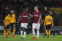 West Ham United's Marko Arnautovic and Michail Antonio<br /> <br /> Photographer Rob Newell/CameraSport<br /> <br /> The Premier League - Wolverhampton Wanderers v West Ham United - Tuesday 29th January 2019 - Molineux - Wolverhampton<br /> <br /> World Copyright © 2019 CameraSport. All rights reserved. 43 Linden Ave. Countesthorpe. Leicester. England. LE8 5PG - Tel: +44 (0) 116 277 4147 - admin@camerasport.com - www.camerasport.com
