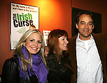 As The World Turns' Terri Colombino - Cady McClain - Jon Lindstrom at the Opening Night of the off-Broadway play The Irish Curse on March 28, 2010 at the Soho Playhouse, New York City, New York. (Photo by Sue Coflin/Max Photos)