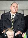 16/10/2010   Copyright  Pic : James Stewart.sct_jsp026_stirling_v_dundee  .:: ADMINISTRATOR BRYAN JACKSON TAKES HIS SEAT IN THE STAND ::  .James Stewart Photography 19 Carronlea Drive, Falkirk. FK2 8DN      Vat Reg No. 607 6932 25.Telephone      : +44 (0)1324 570291 .Mobile              : +44 (0)7721 416997.E-mail  :  jim@jspa.co.uk.If you require further information then contact Jim Stewart on any of the numbers above.........