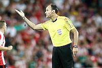 Spanish referee Mateu Lahoz during La Liga match. August 28,2016. (ALTERPHOTOS/Acero) /NORTEPHOTO