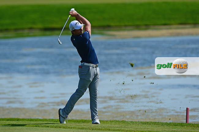 Haydn Porteous of South Africa in action during Round 1 of the Nordea Masters, Bro Hof Slott Golf Club, Stockholm, Sweden. 02/06/2016<br /> Picture: Richard Martin-Roberts / Golffile<br /> <br /> All photos usage must carry mandatory copyright credit (&copy; Golffile | Richard Martin- Roberts)