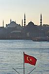 Istanbul, Turkey, Golden Horn, Turkish flag, Muslim community, Islamic, mosques,