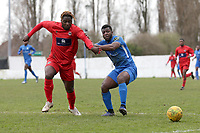 Michael Dixon of Barking during Barking vs South Park, BetVictor League South Central Division Football at Mayesbrook Park on 7th March 2020